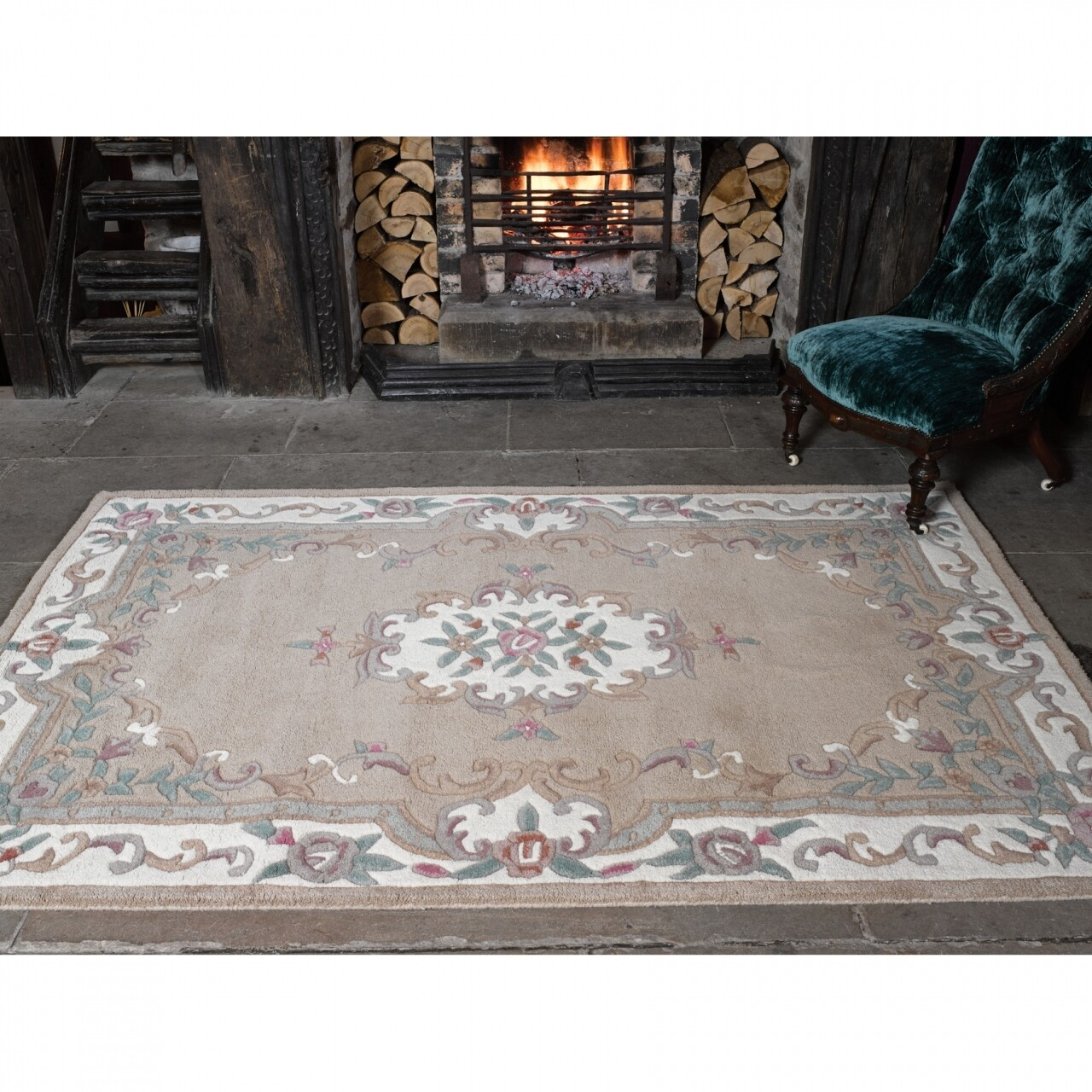 Covor Fawn, Flair Rugs, 60 x 120 cm, 100% lana, multicolor