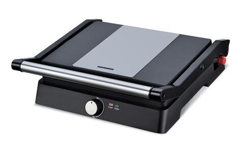 Grill electric, Heinner, 2000 W, 29x23 cm, negru