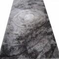 Covor Vanja Koberec Grey, 140 x 200 cm, 100% poliester, gri/negru