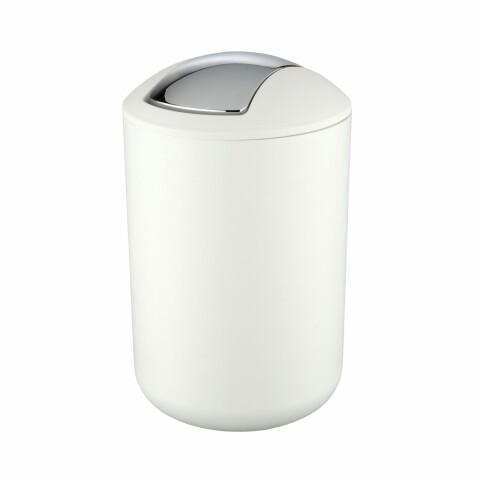 Coș de gunoi pentru baie Wenko Brasil L White