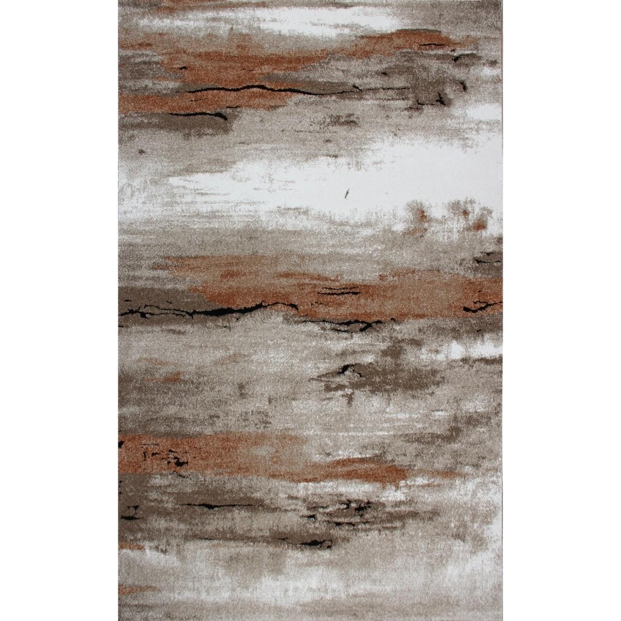 Covor rezistent Eko, EX 01 - Beige, Terra, 100% poliester, 80 x 150 cm