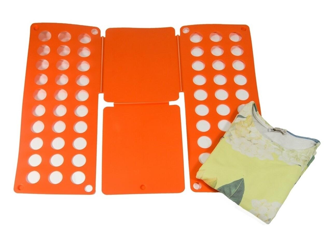 Plansa pentru impaturit haine Orange, Jocca, 60 x 70 cm, polipropilena, portocaliu
