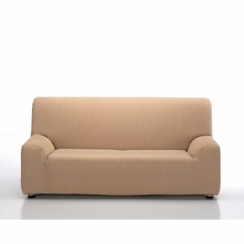 Husa elastica canapea, Belmarti, Teide, 3 locuri, bej