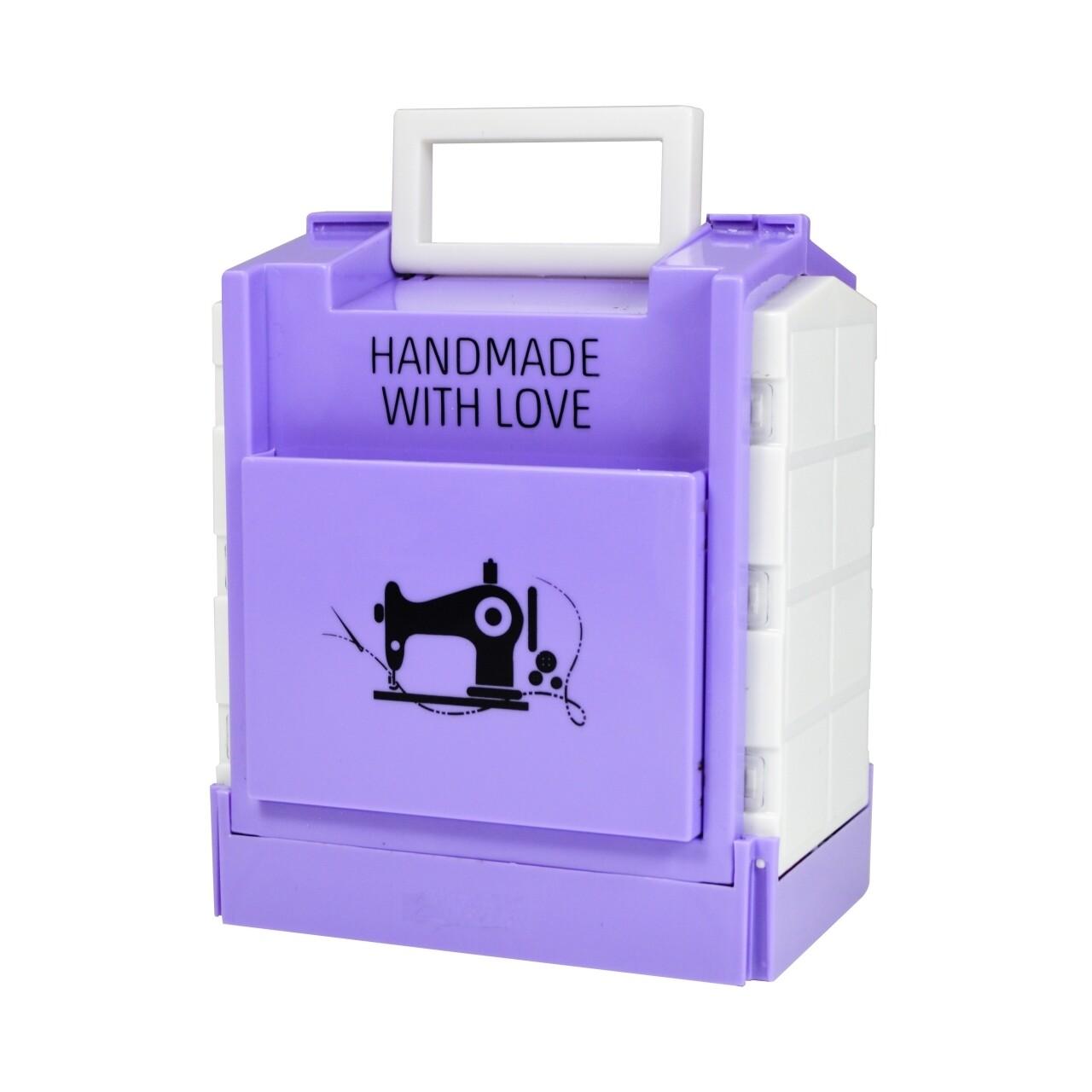 Trusă pentru cusut cu ață și accesorii Purple Jocca