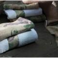 Set 2 prosoape de baie Silk, Aglika, 50 x 100 cm/ 50 x 30 cm, 70% bumbac, 30% microfibra, multicolor