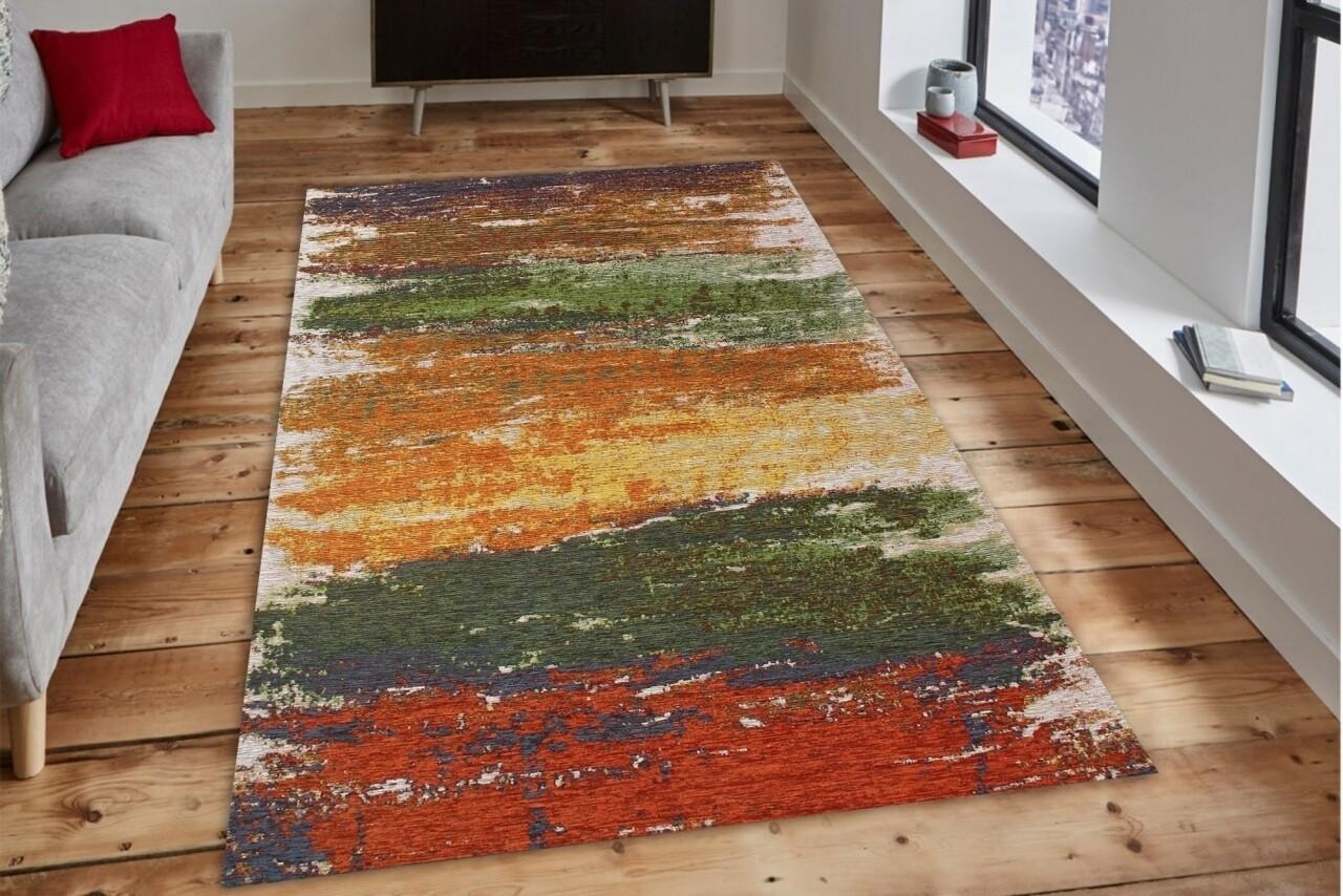 Covor rezistent Eko, SM 36 - Autumn XW, 100% acril, 80 x 150 cm