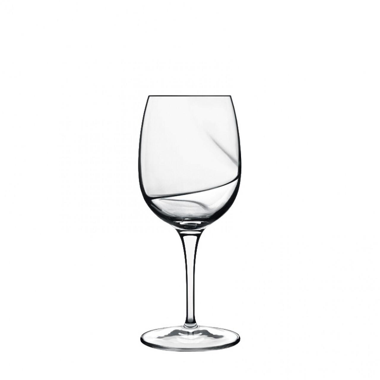 Set 6 pahare vin rosu, cristalin, Aero, Luigi Bormioli
