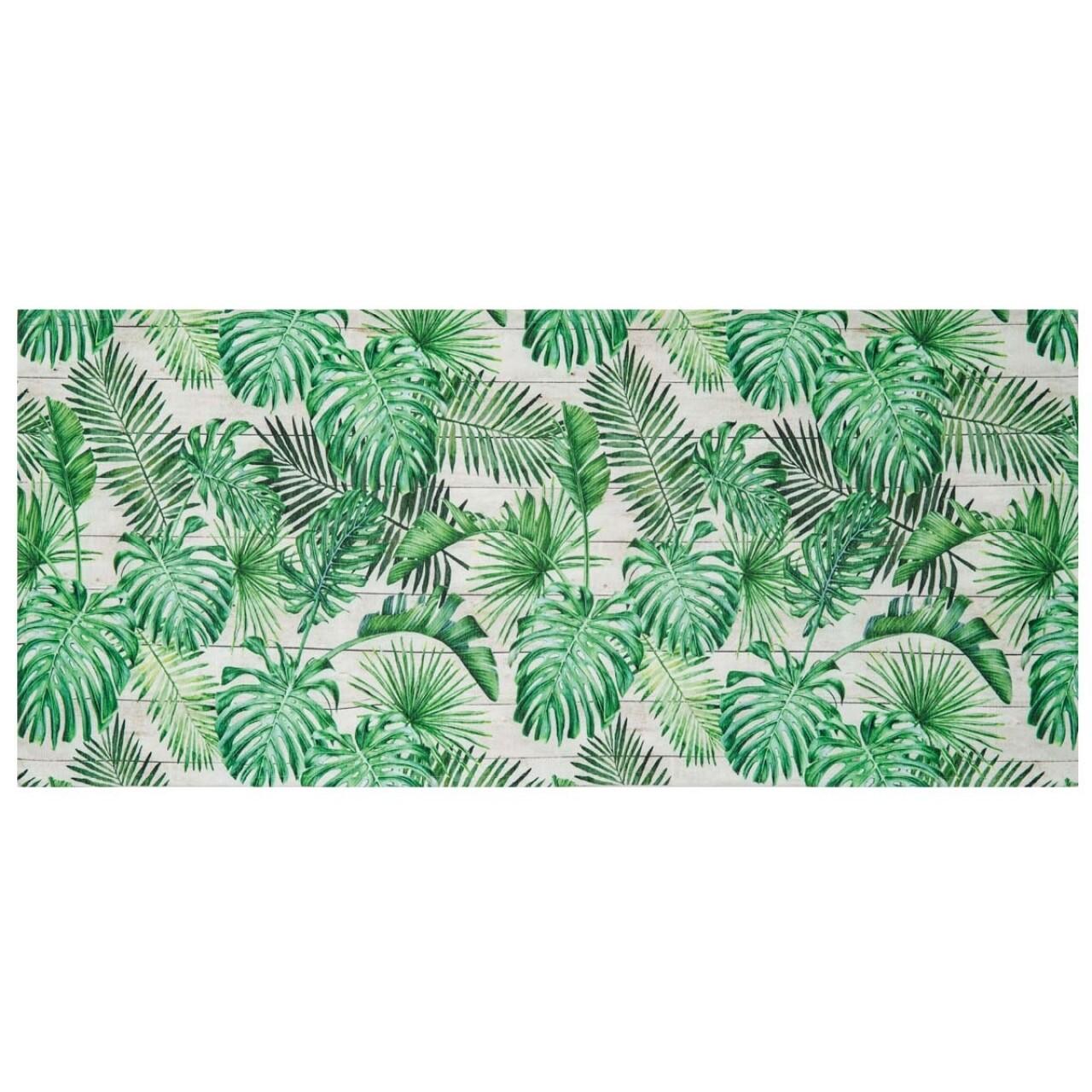 Covor rezistent Webtappeti Tahiti 58 x 190 cm, verde