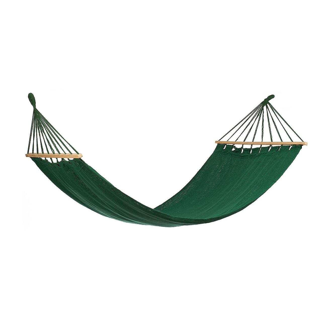 Hamac Green cu bare de lemn, 200x80 cm, Heinner