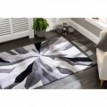 Covor Infinite Splinter Grey, Flair Rugs, 160 x 220 cm, 100% poliester, gri