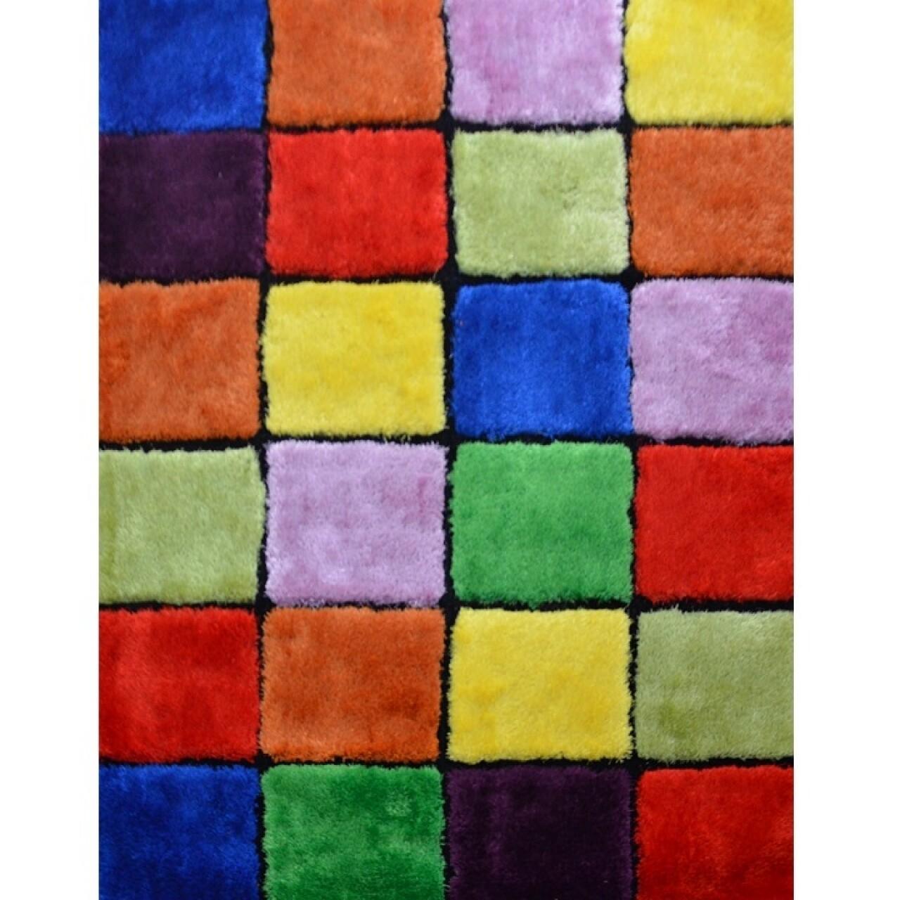 Covor Ludvic Koberec SM73A, 140 x 200 cm, 100% poliester, multicolor