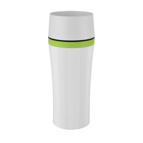 Cana termos Tefal, 360 ml, plastic, alb