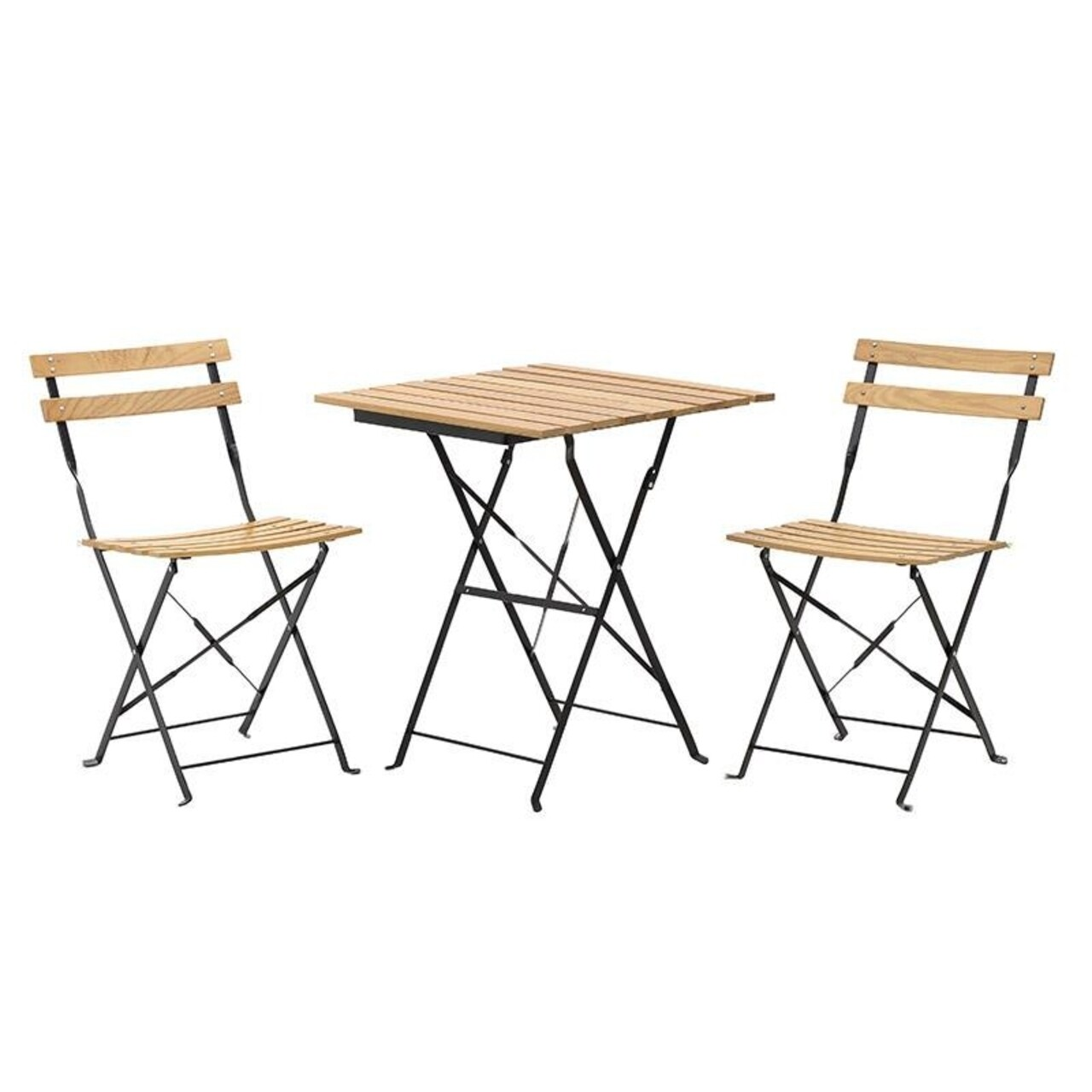 Set mobilier de gradina InArt, 3 piese, bej
