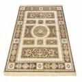 Covor Brown Imperial, Webtappeti, 160 x 230 cm, 100% viscoza, bej/maro