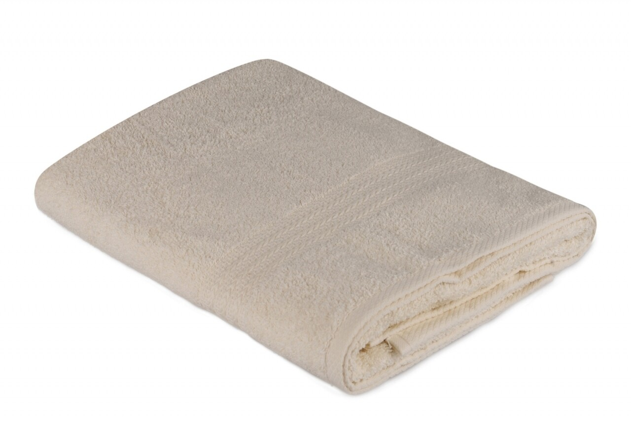 Prosop de baie, Hobby, 70x140 cm, 100% bumbac, crem