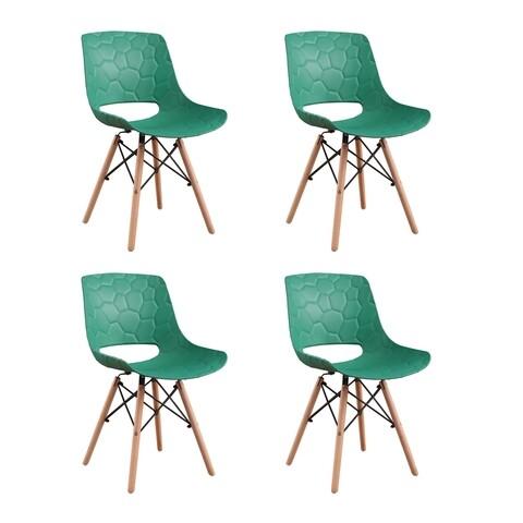 Set 4 scaune Fizzy, Heinner, verde