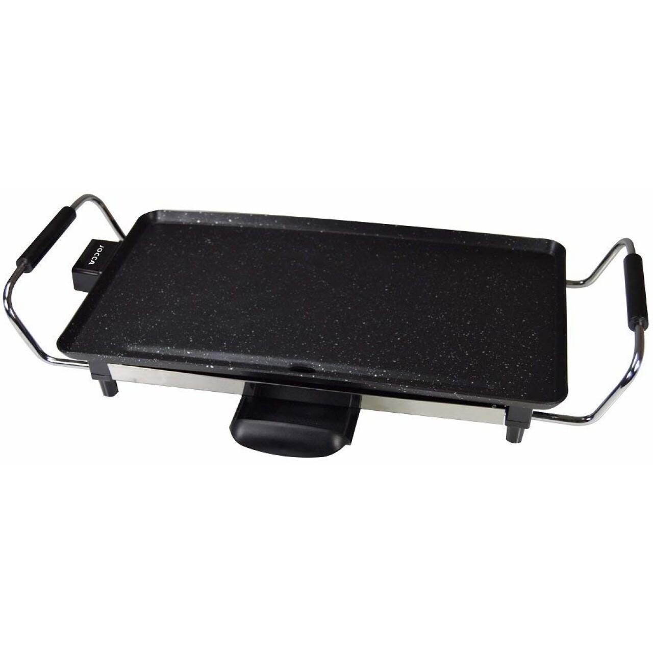 Gratar electric Jocca, 2000W, 43 x 23 cm, negru