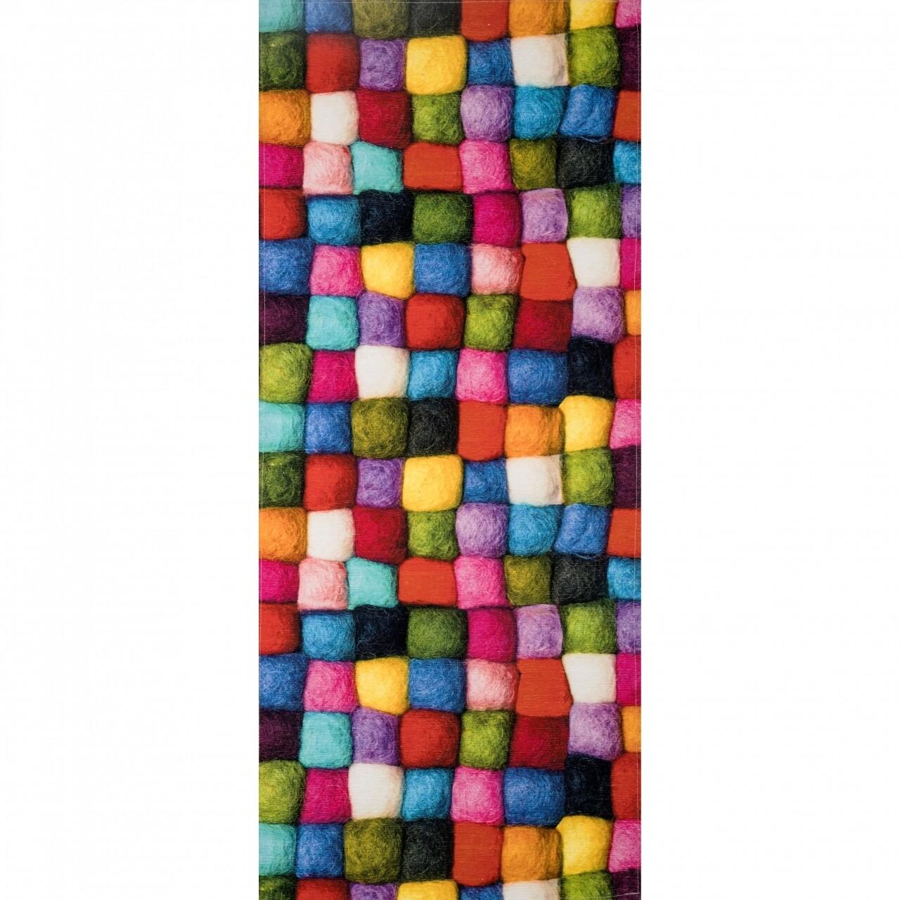 Covor rezistent Webtappeti BATUFFOLI CM 58x140 cm, multicolor