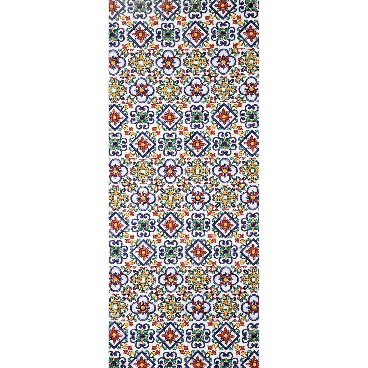 Covor rezistent Webtappeti CERAMICA1 CM 58x190 cm, multicolor