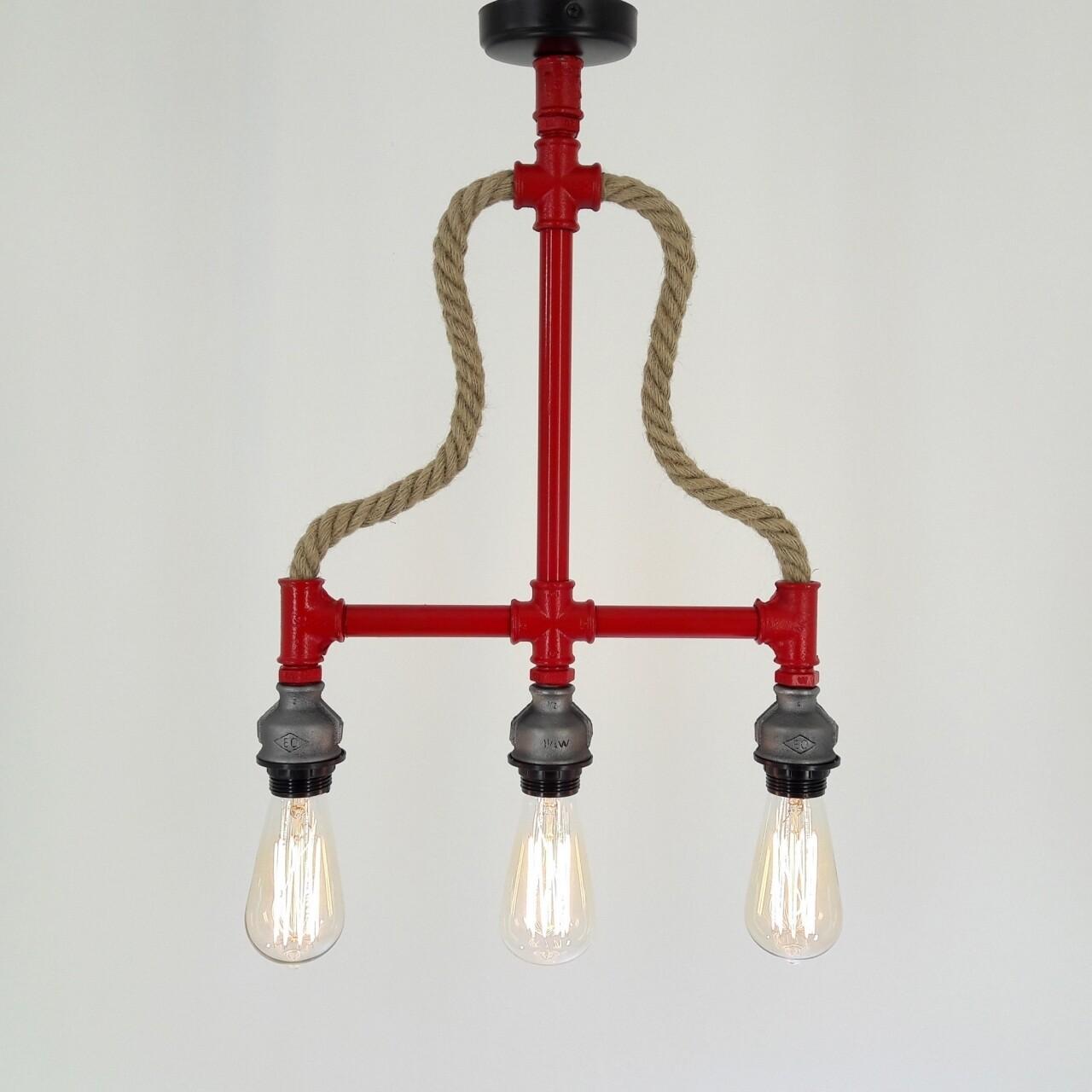 Candelabru All Design, metal, 38x50 cm, Red