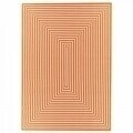Covor indoor outdoor Floorita BRAID ORANGE 200X285