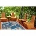 Covor indoor outdoor Floorita PALMS BLUE 135X190