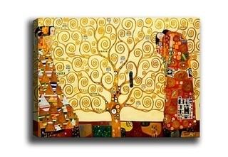 Tablou decorativ The Tree of Life, Tablo center, 40x60 cm, canvas, multicolor