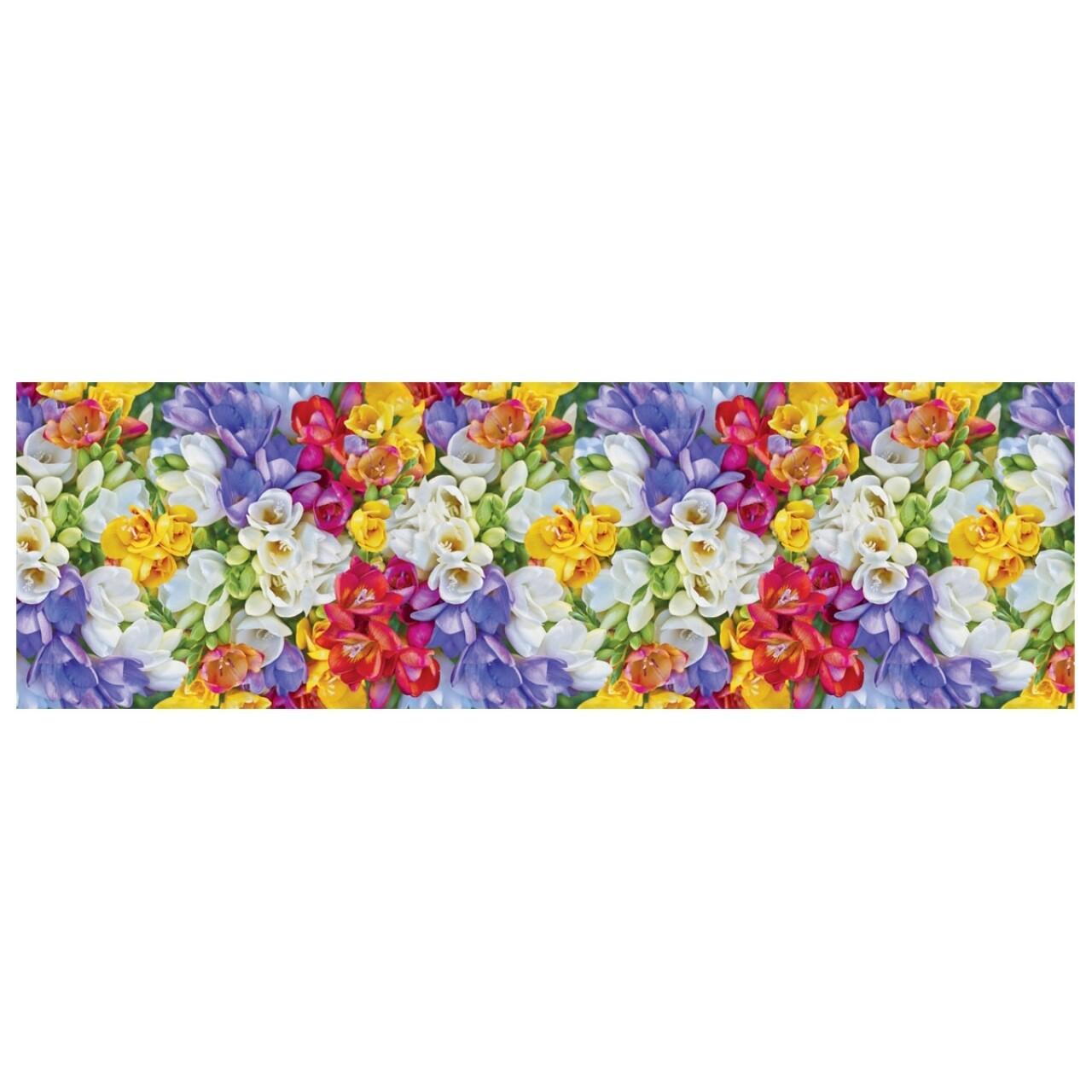Covor rezistent Webtappeti Crocus 58 x 190 cm, multicolor