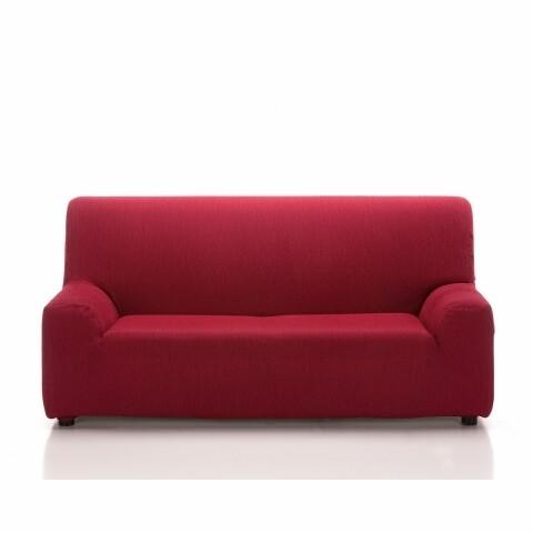 Husa elastica canapea, Belmarti, Teide, 3 locuri, rosu