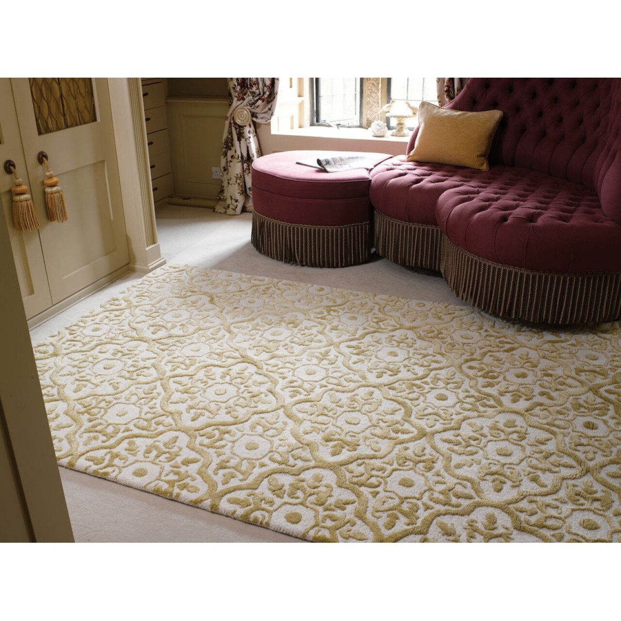 Covor Mayfair Knightsbridge Gold 120X170 cm
