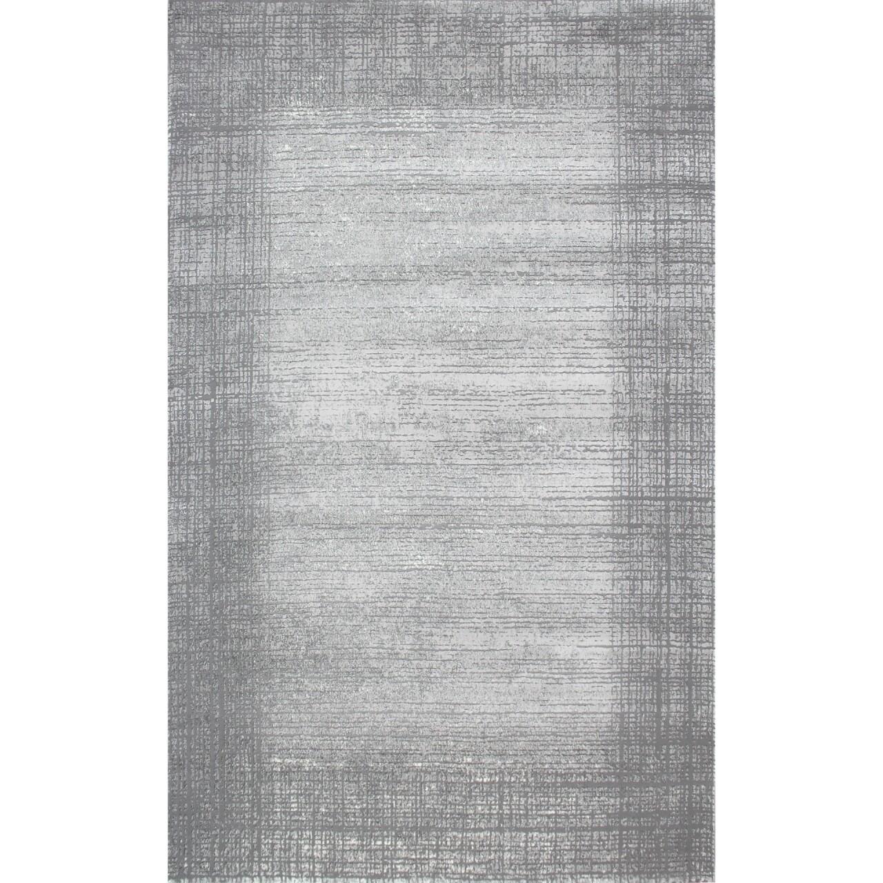 Covor rezistent Eko, CM 03 - Grey, Light Grey , 100% poliester,  120 x 170 cm