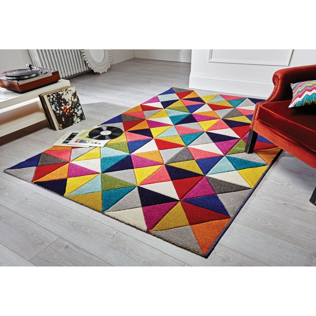 Covor Spectrum Samba Multi, Flair Rugs, 160 x 230 cm, 100% polipropilena, multicolor