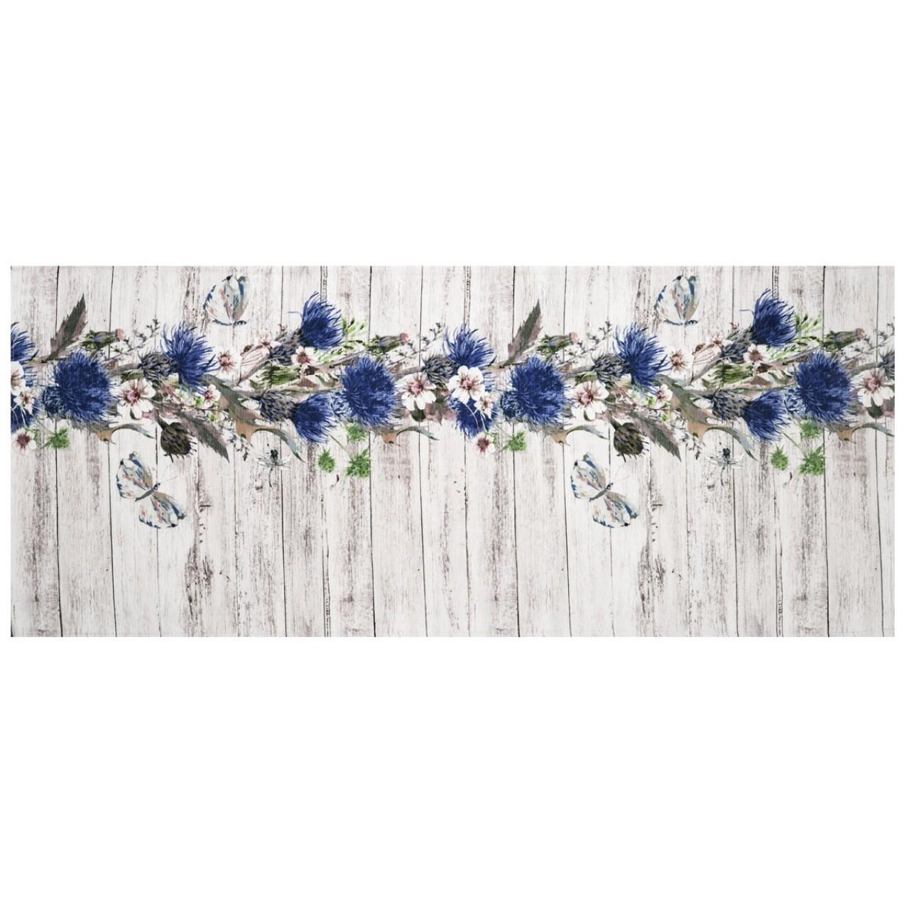 Covor rezistent Webtappeti Fiori Selvatici 58 x 240 cm, multicolor