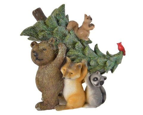 Decoratiune Animals, Decoris, polirasina, multicolor