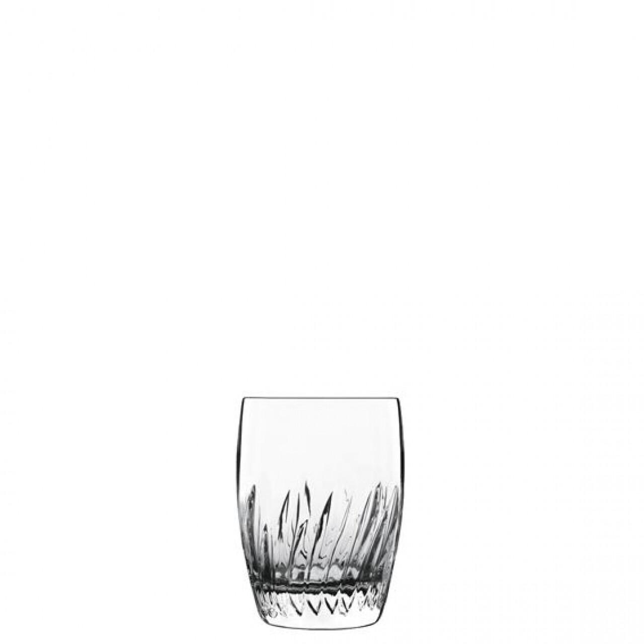 Set 6 pahare apa Incanto D.O.F., Luigi Bormioli, 325 ml, cristalit, transparent