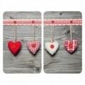 Set 2 protectii universale pentru aragaz Wenko Hearts
