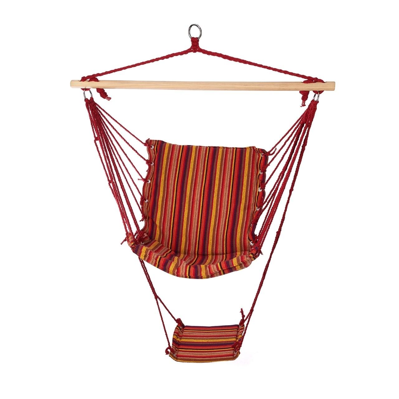 Hamac tip scaun Multistripes, 100x58 cm, Heinner