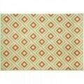 Covor indoor outdoor Floorita GRECA GREEN 133X190