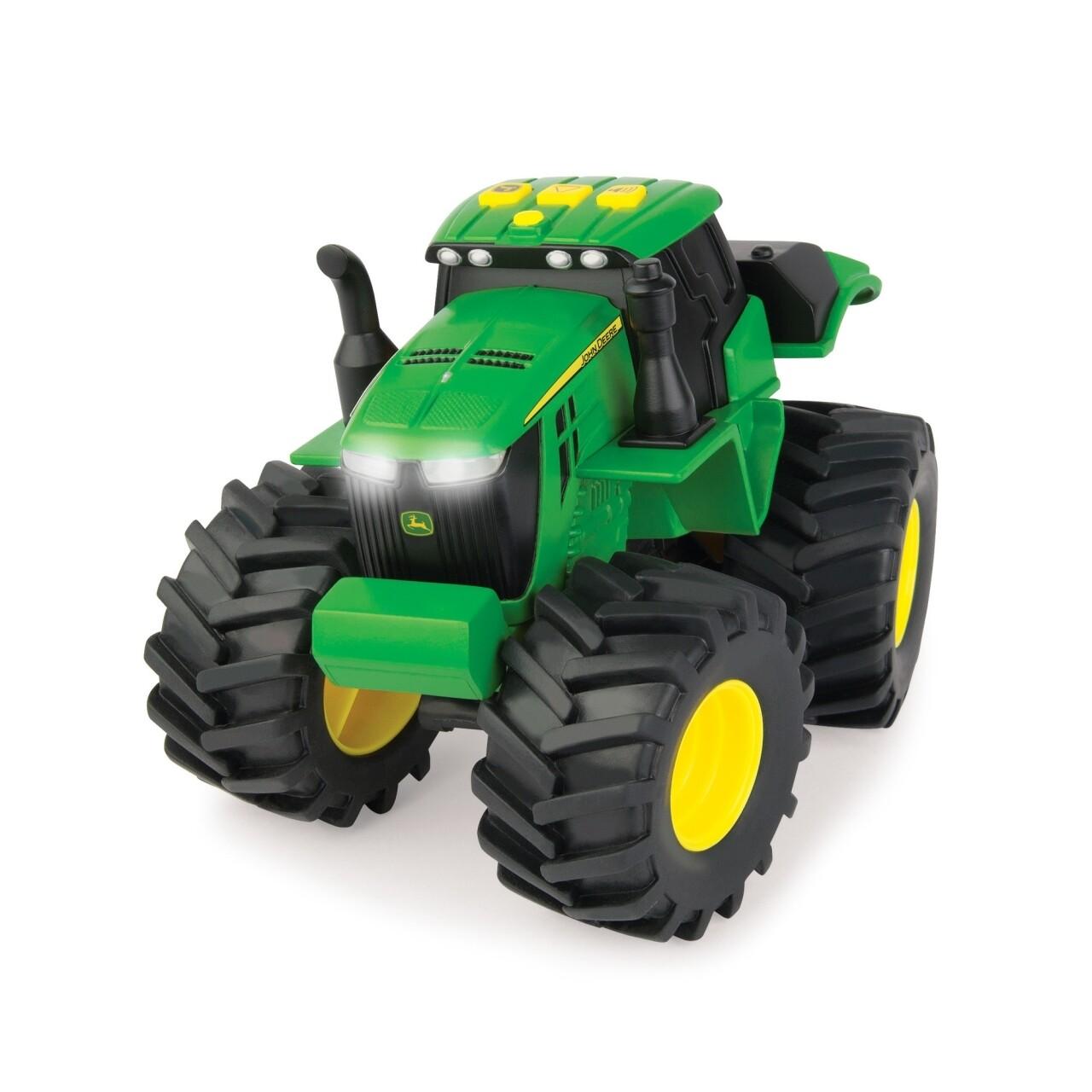 Tractor cu lumini si sunete