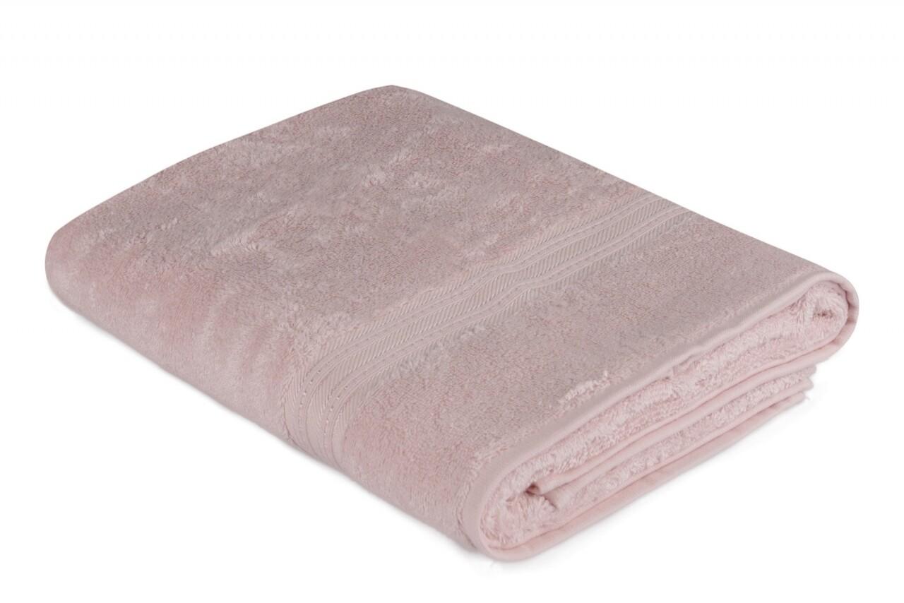 Prosop de baie, Hobby, Lavinya - Light Powder, 70x140 cm, 60% fibra de bambus si 40% bumbac, Frez