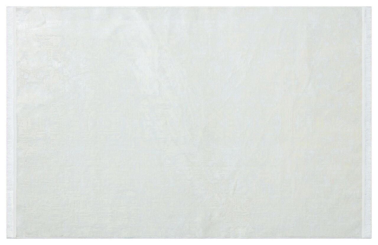 Covor Eko rezistent, ST 08 - White, 60% poliester, 40% acril,  80 x 300 cm