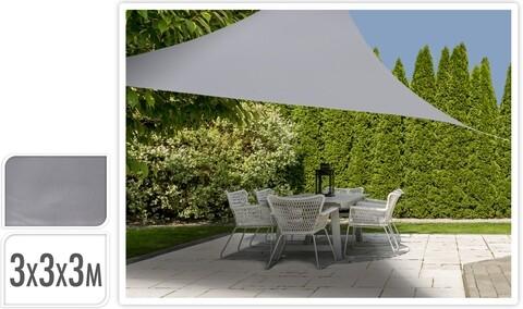 Prelata pentru terasa Grey, 300x300 cm, poliester, gri