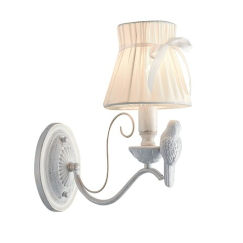 Lampa de perete Aca Lighting, Bohemia Vintage Gold, E14, 60W
