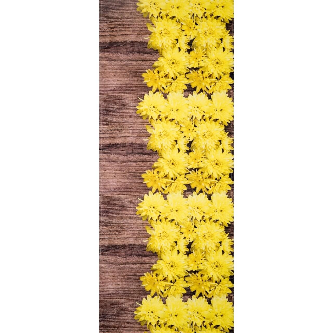 Covor rezistent Webtappeti DALIE CM 58x80 cm, galben/maro