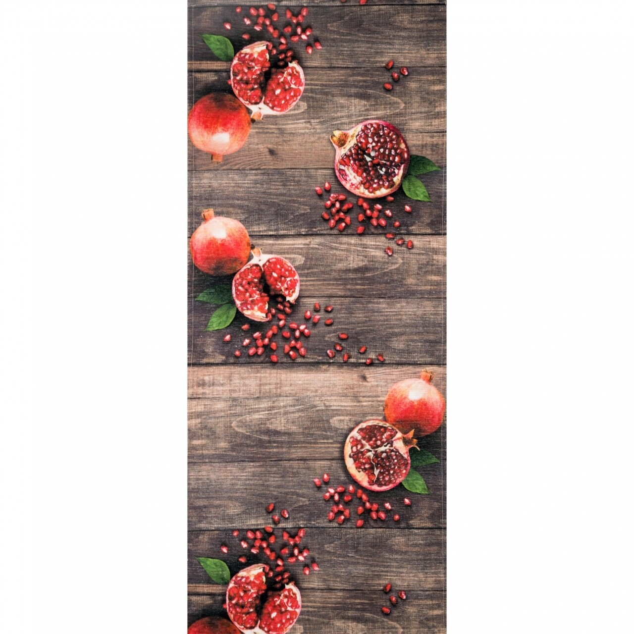 Covor rezistent Webtappeti MELOGRANA CM 58x190 cm, maro/rosu/verde
