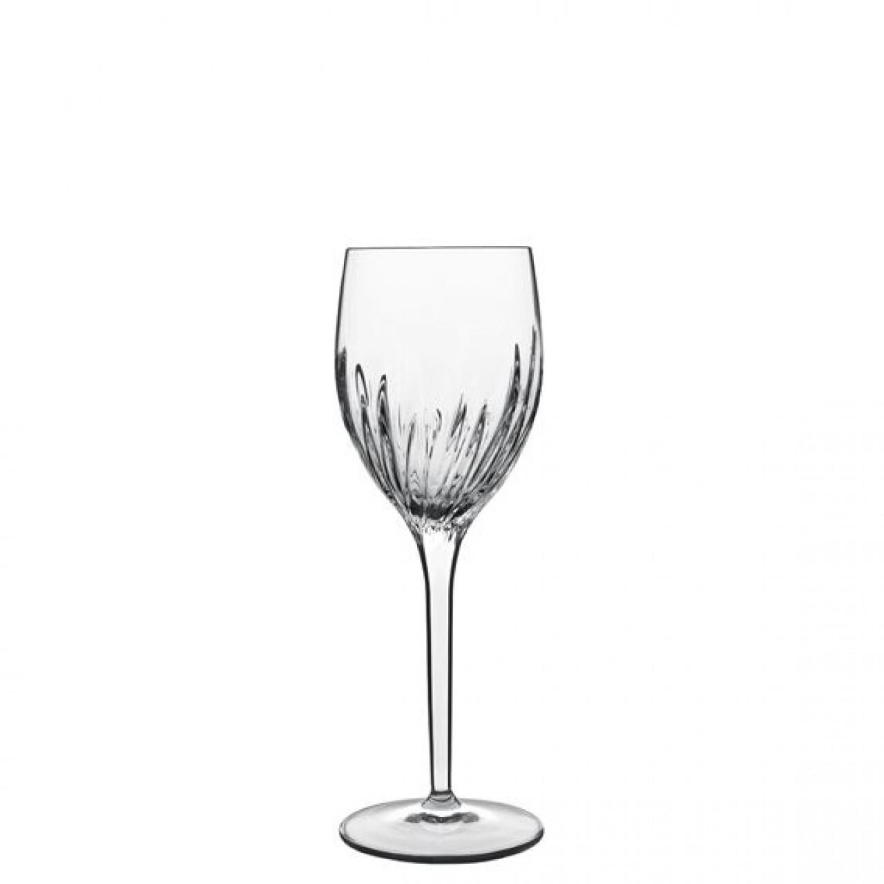 Set 6 pahare vin alb Incanto, Luigi Bormioli, 266 ml, cristalit, transparent