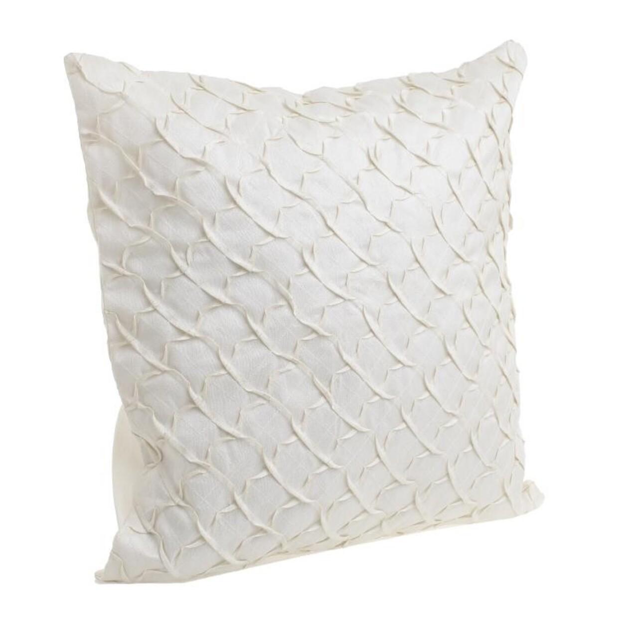 Perna decorativa InArt, 45x45cm, alb
