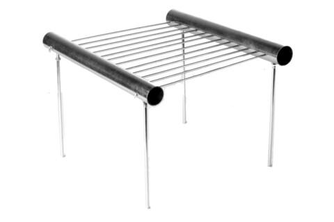 Gratar portabil, Heinner, 30x30x30 cm, otel galvanizat