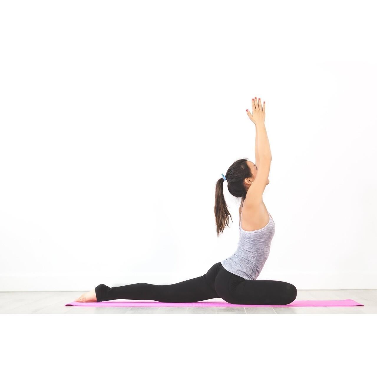 Saltea Fitness/Yoga/Pilates Jocca Pink 60x173x0.5 cm