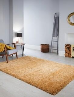 Covor Athena Ochre, Flair Rugs, 80 x 150 cm, polipropilena, ocru